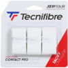 Pack 3 overgrips  TECNIFIBRE pro contact  blanco